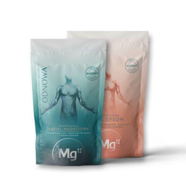 mg12 odnowa płatki magnezowe 1kg oraz epsom 1kg