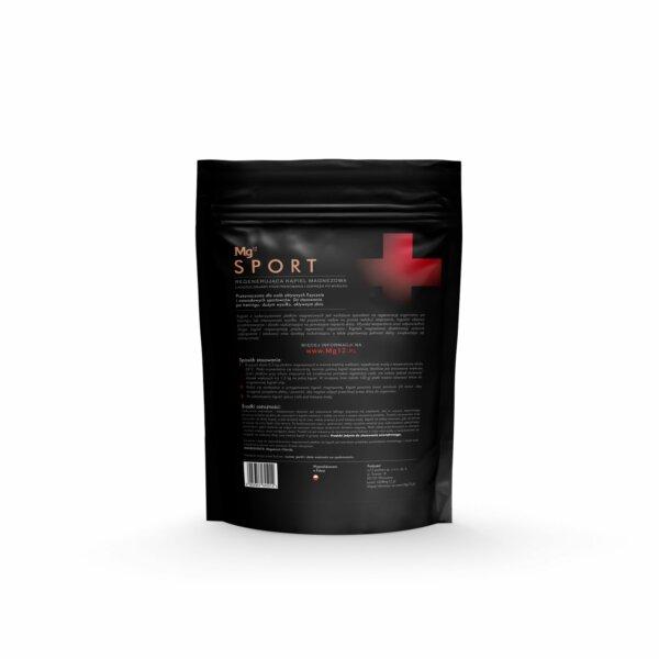mg12 sport płatki magnezowe do regeneracji 4kg tył