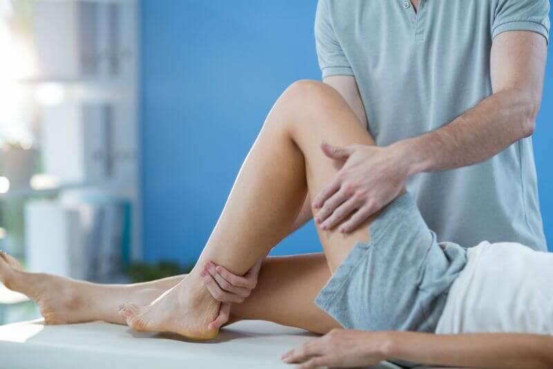 Magnezowy masaż sportowy