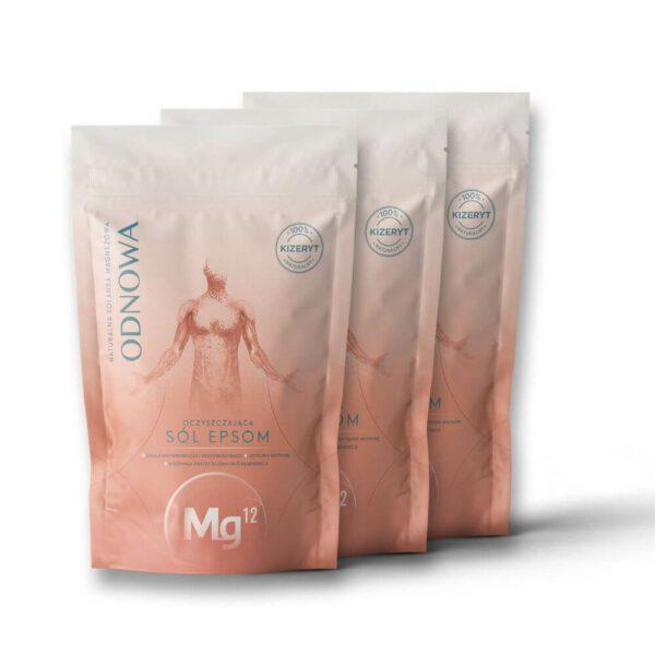 mg12 odnowa sól epsom 3 x 1kg