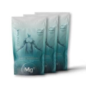 mg12 odnowa płatki magnezowe 3 x 1kg