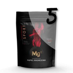 mg12 sport płatki magnezowe 5 x 4kg