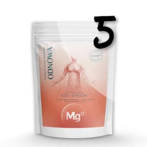mg12 odnowa sól epsom 5 x 4kg