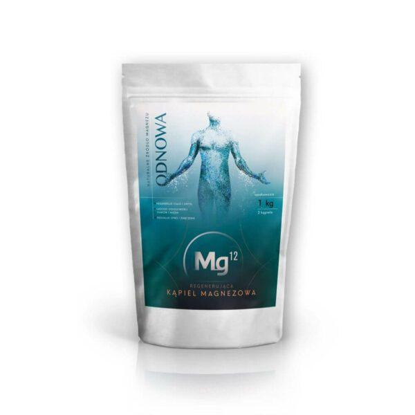 Płatki magnezowe 100% biszofit 1kg Mg12 ODNOWA