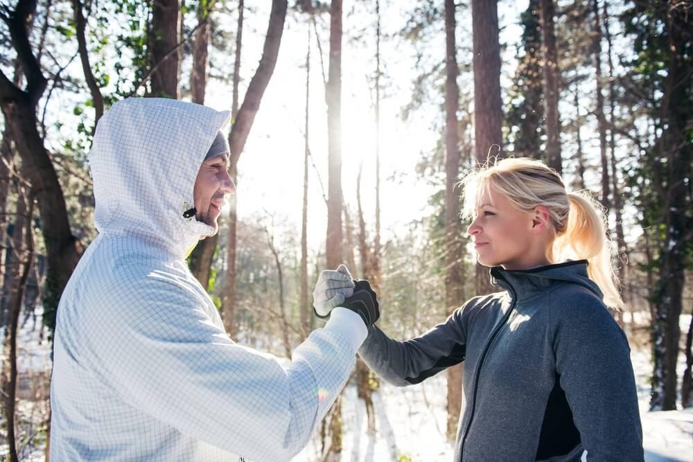 Zimowy trening - regeneracja