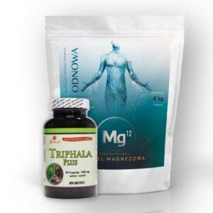 chlorek magnezu mg12 triphala 90