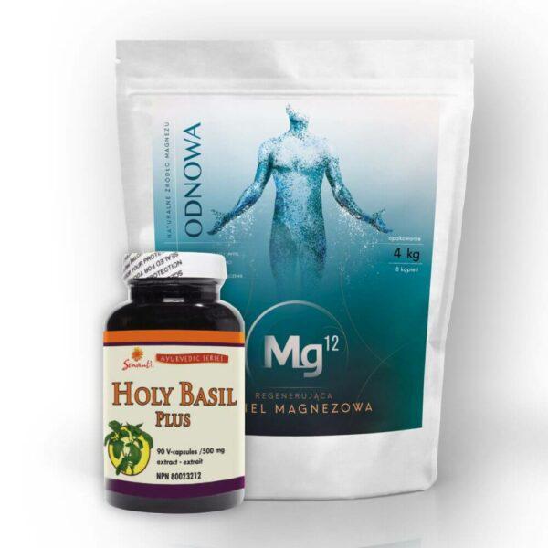biszofit 100% 4kg Mg12 + sewanti holy basil plus 90 kaps