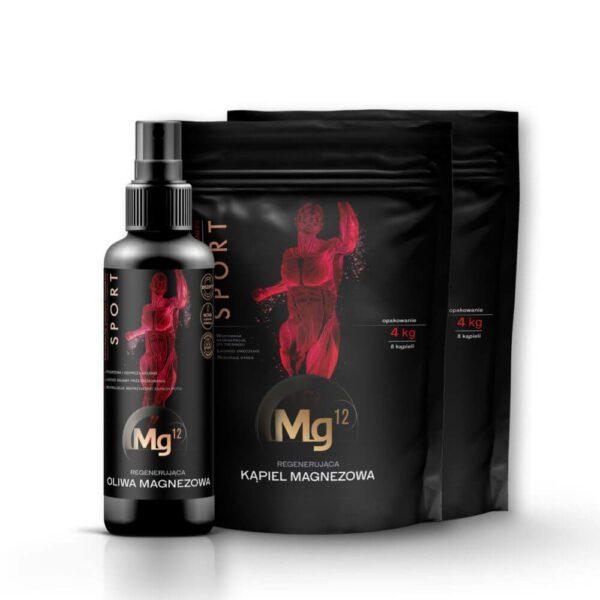 oliwa magnezowa za 1 grosz + płatki do regeneracji 8kg