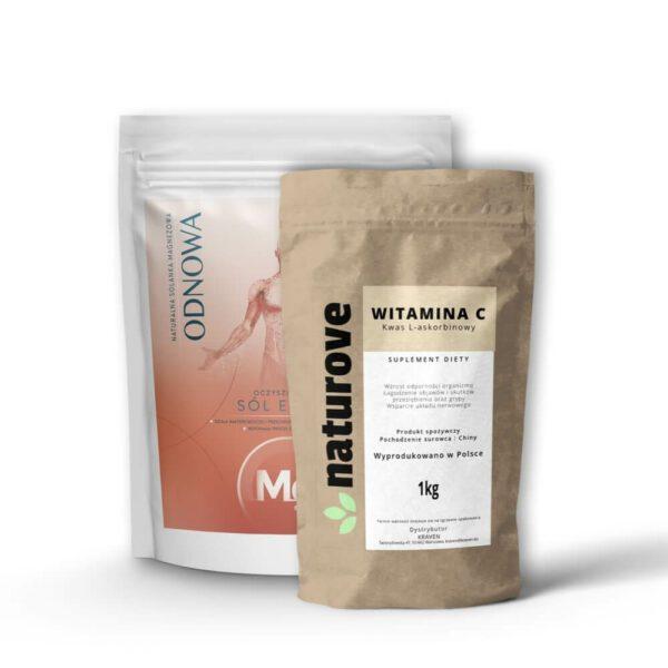 epsom 4kg + witamina c 1kg