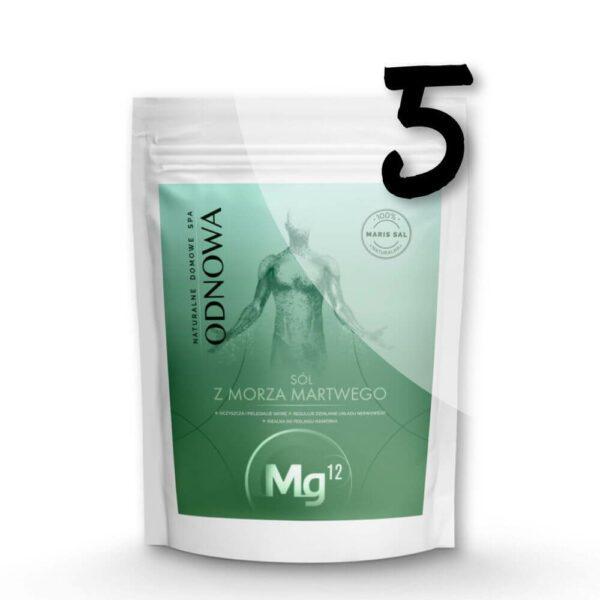 mg12 odnowa sól z morza martwego 20kg